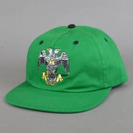 33rd Degree Snapback Cap - Dark Kelly Green