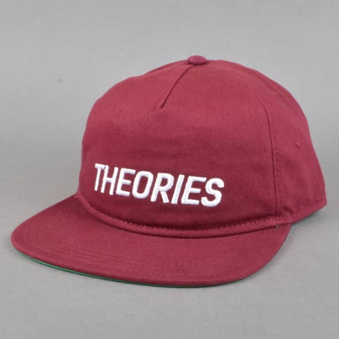 Theories of Atlantis Stamp Snapback Cap - Maroon