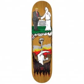 Thiebaud Wrench Justice Popsicle (Brown Stain) Full Shape Skateboard Deck 8.25