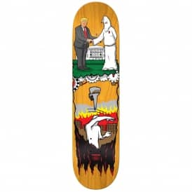 Thiebaud Wrench Justice Popsicle (Orange Stain) Full Shape Skateboard Deck 8.25