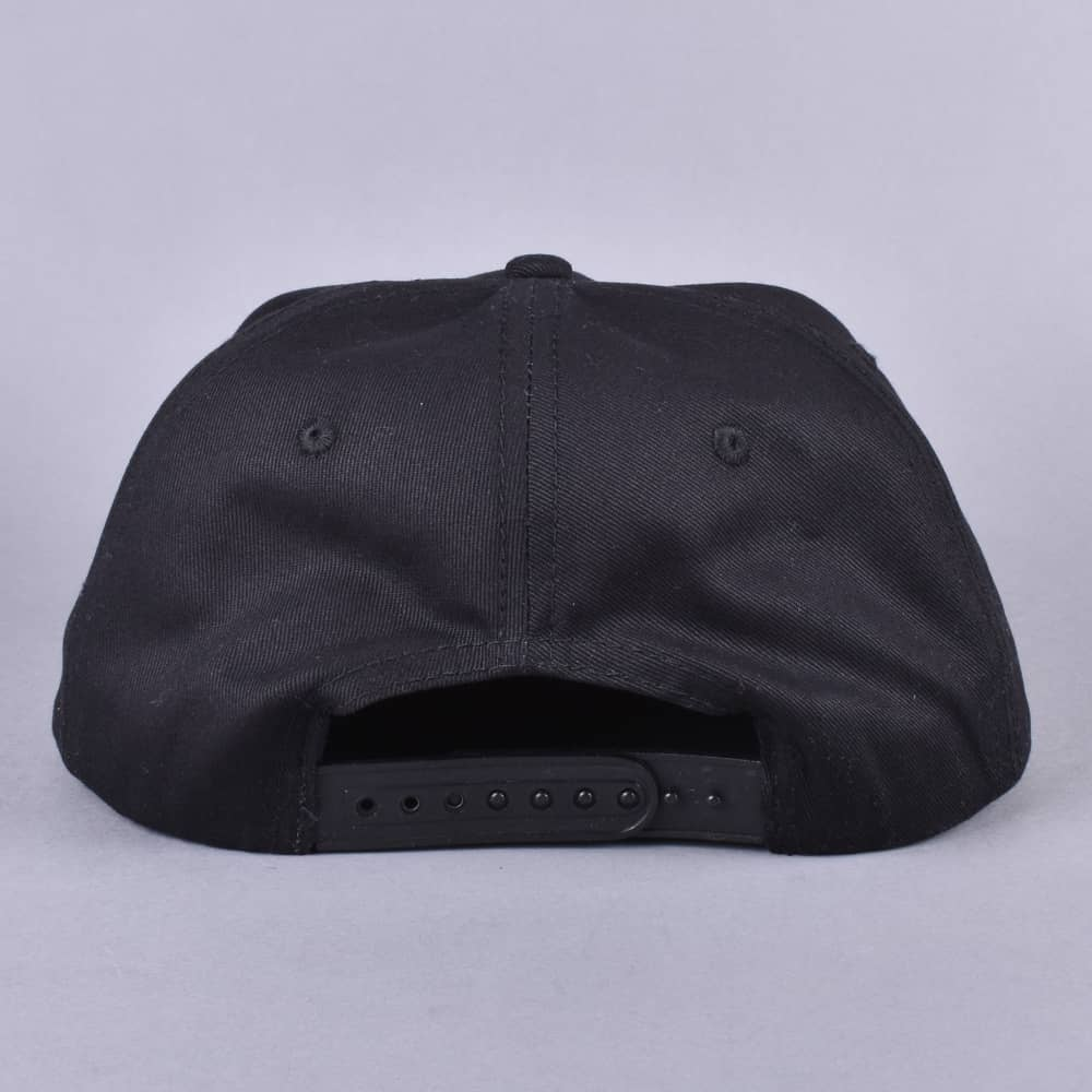 980da720d Thrasher Flame Mag Snapback Cap - Black