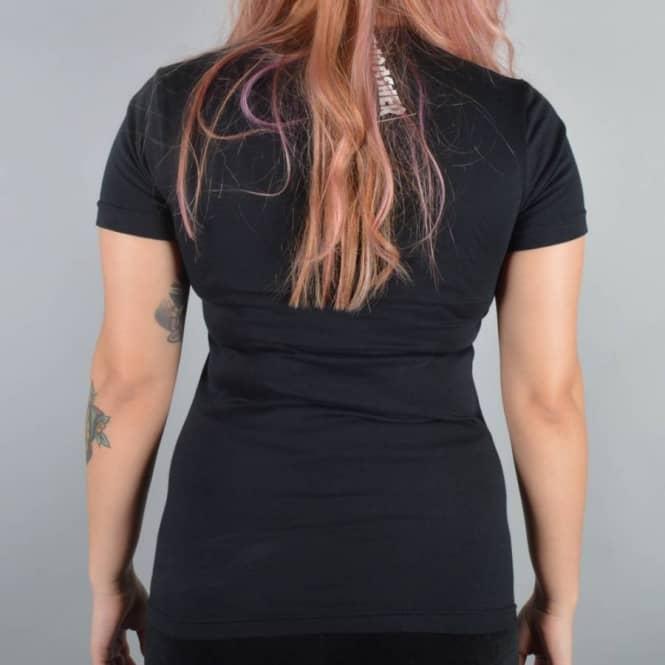 d2fc2c21 Thrasher Girls Skate Mag Logo T-Shirt - Black - SKATE CLOTHING from ...