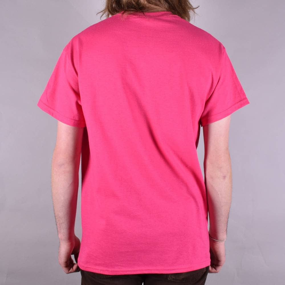 8b44632058d6 Thrasher Gonz Cover Skate T-Shirt - Pink - SKATE CLOTHING from ...