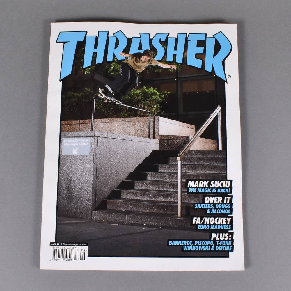 4dbd235994cc Thrasher Magazine August 2019 - Issue 469 - ACCESSORIES from Native ...