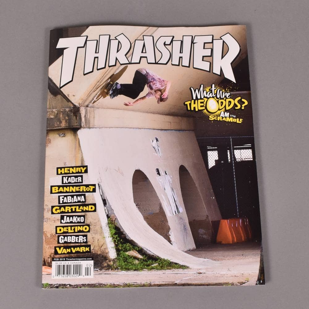 c624bf015890 Thrasher Magazine February 2019 - Issue 463 - ACCESSORIES from ...