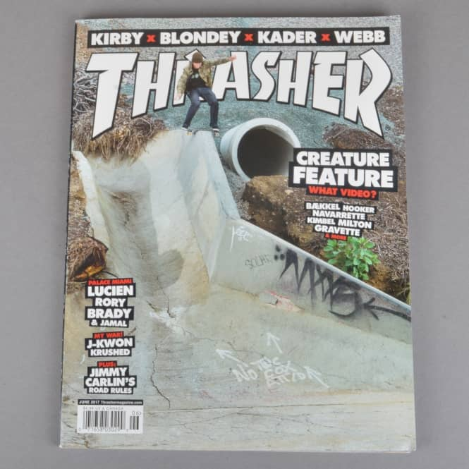 Thrasher Thrasher Magazine Issue 443 - June 2017