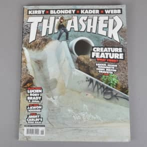 Thrasher Magazine Issue 443 - June 2017