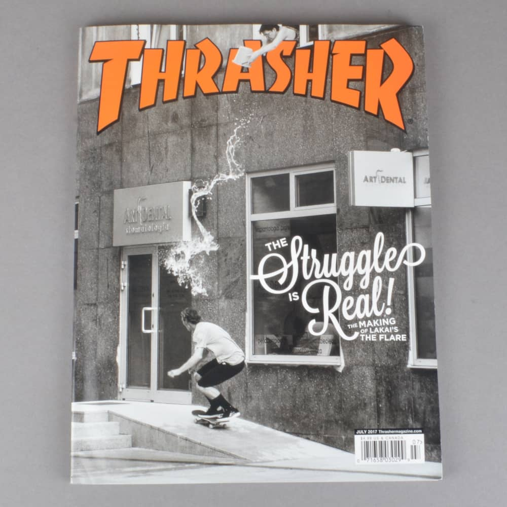 Thrasher Magazine Issue 444 - July 2017