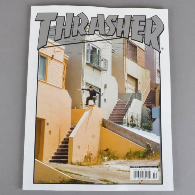 Thrasher Thrasher Magazine Issue #451 - Feb 2018