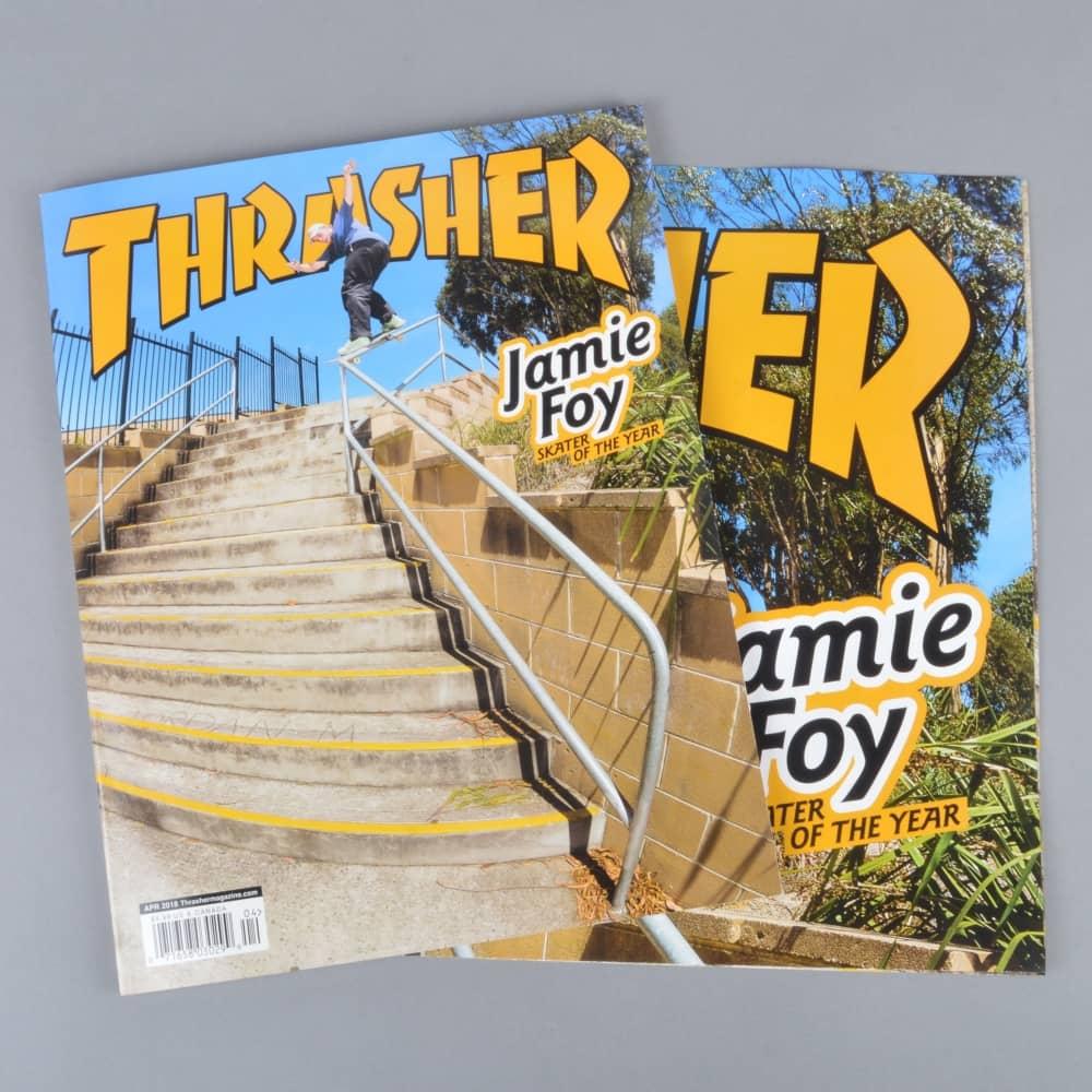 dd4061b7b5b5 Thrasher Magazine Issue  453 - April 2018 - ACCESSORIES from Native ...