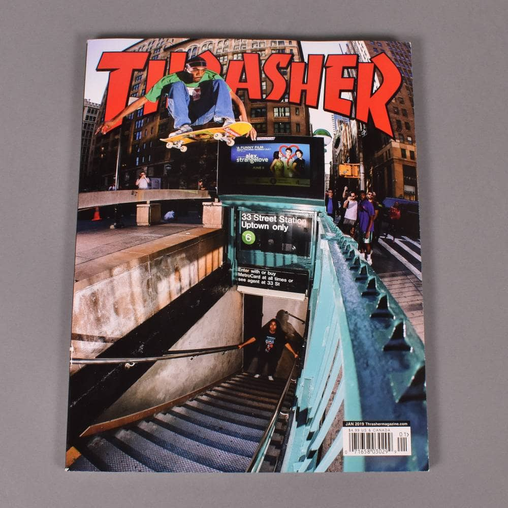 Thrasher Magazine January 2019 - Issue 462