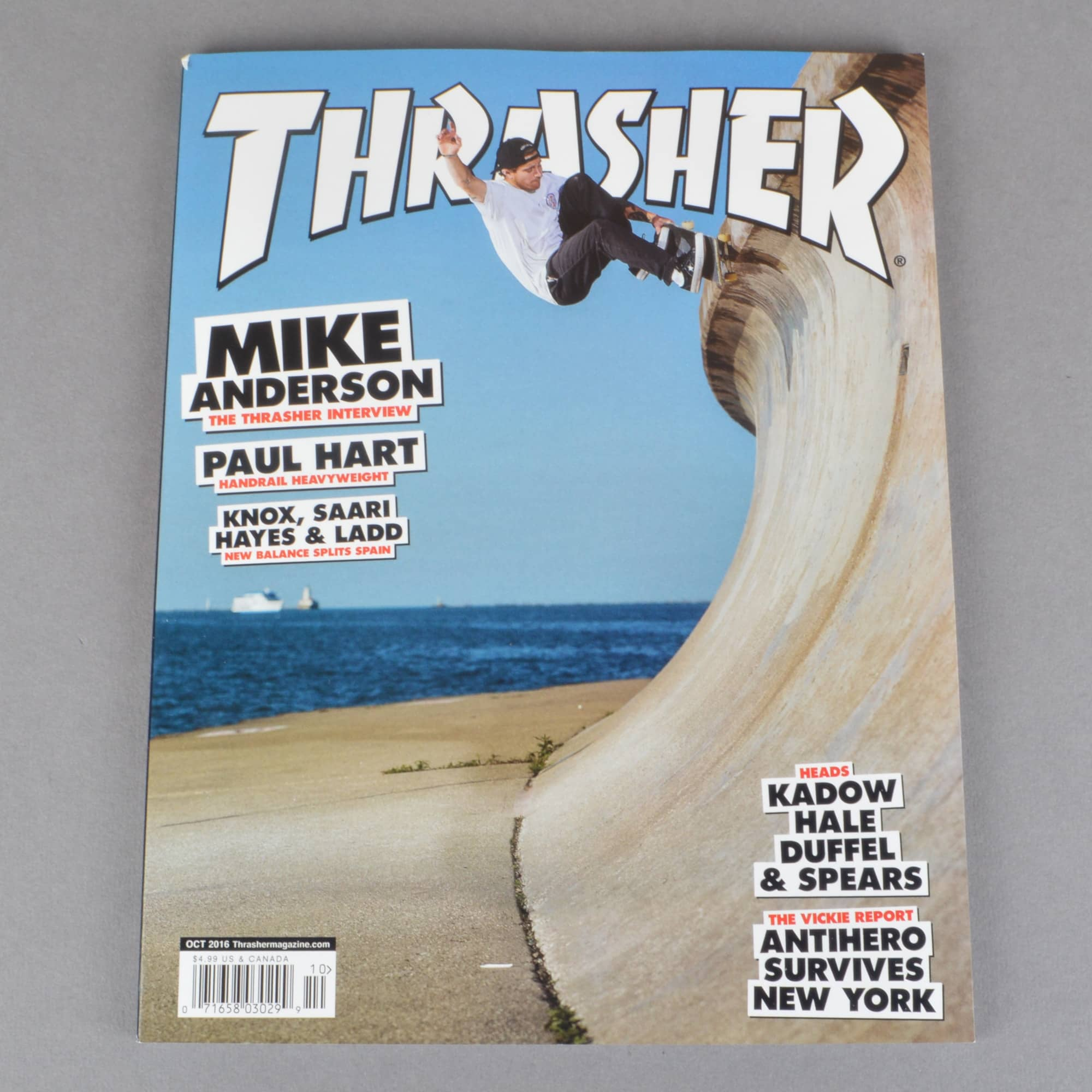 Thrasher Thrasher Magazine October 2016