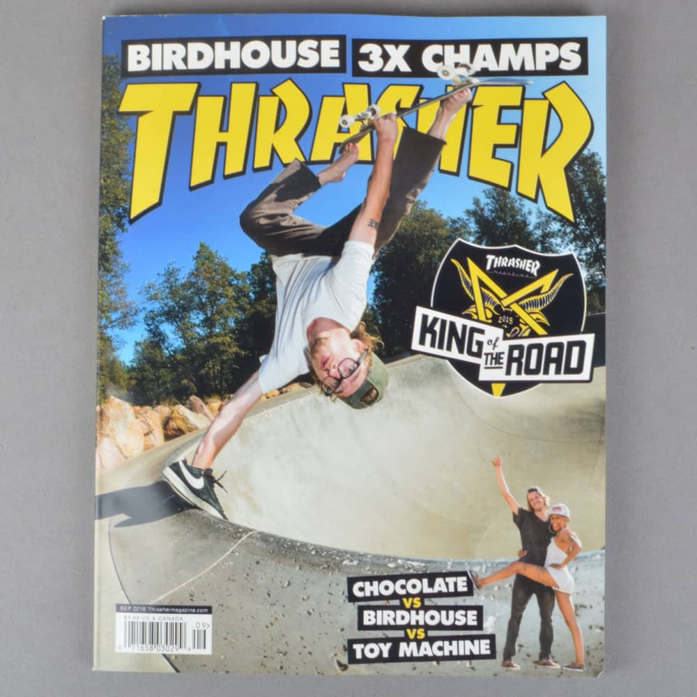 dc8975391111 Thrasher Magazine September 2016 - Issue 434 - ACCESSORIES from ...