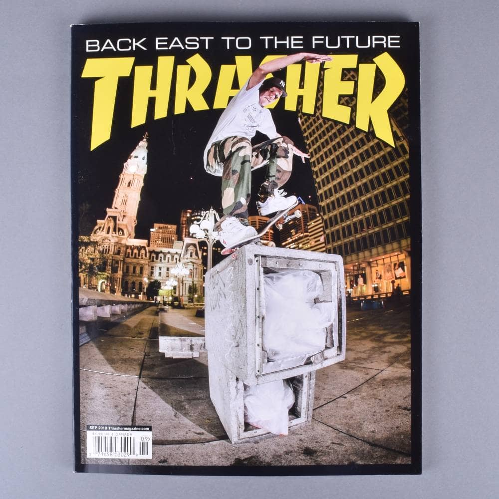 24982ccd1636 Thrasher Magazine September 2018 - Issue 458 - ACCESSORIES from ...