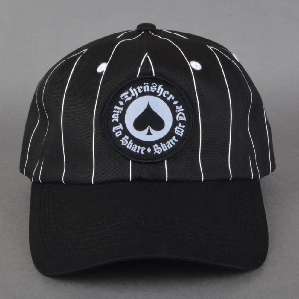 9343699b6 Oath Pinstripe Snapback Cap - Black