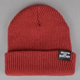 Thrasher Skate And Destroy Beanie - Maroon