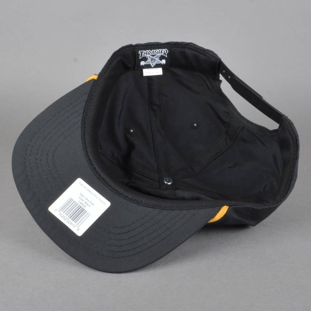 79db5d98d44 Thrasher Skate And Destroy Puff Ink Snapback Cap - Black - SKATE ...