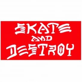 Thrasher Skate And Destroy Skateboard Sticker