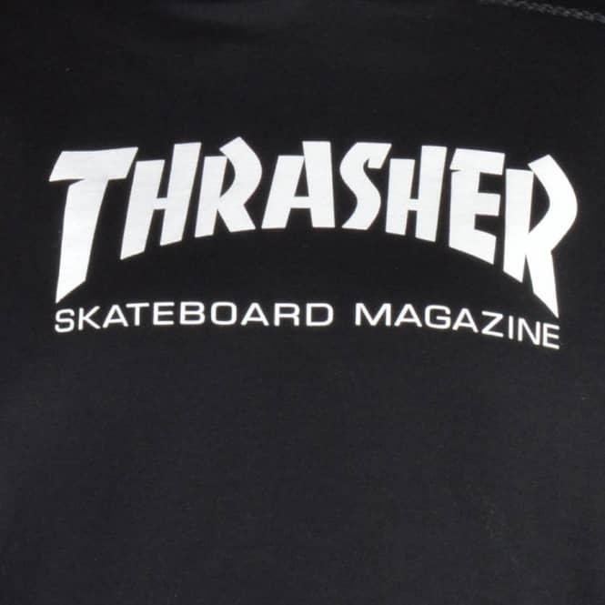 784dcd4b428f Thrasher Skate Mag Logo Hoodie - Black - SKATE CLOTHING from Native ...
