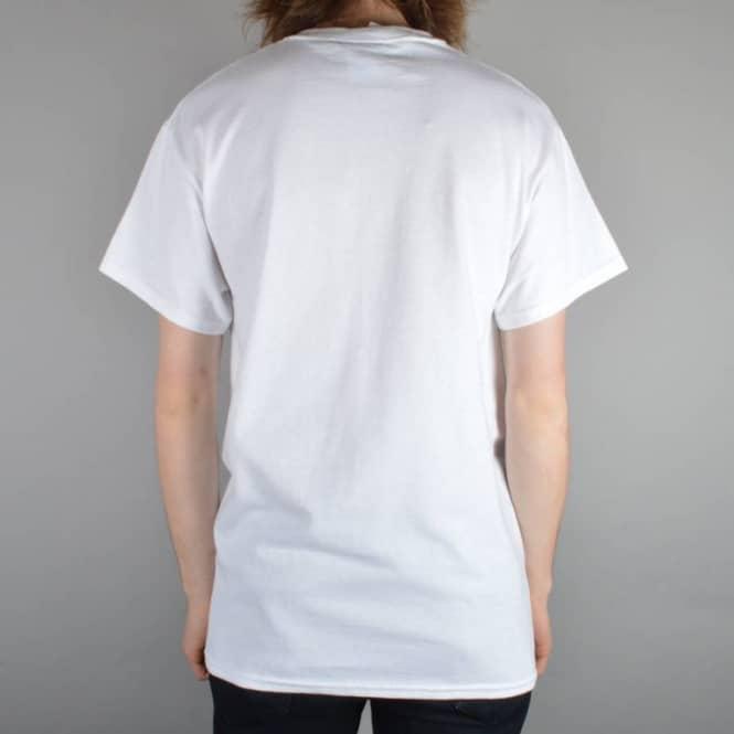 08274d8e Thrasher Skate Mag Logo Skate T-Shirt - White - SKATE CLOTHING from ...
