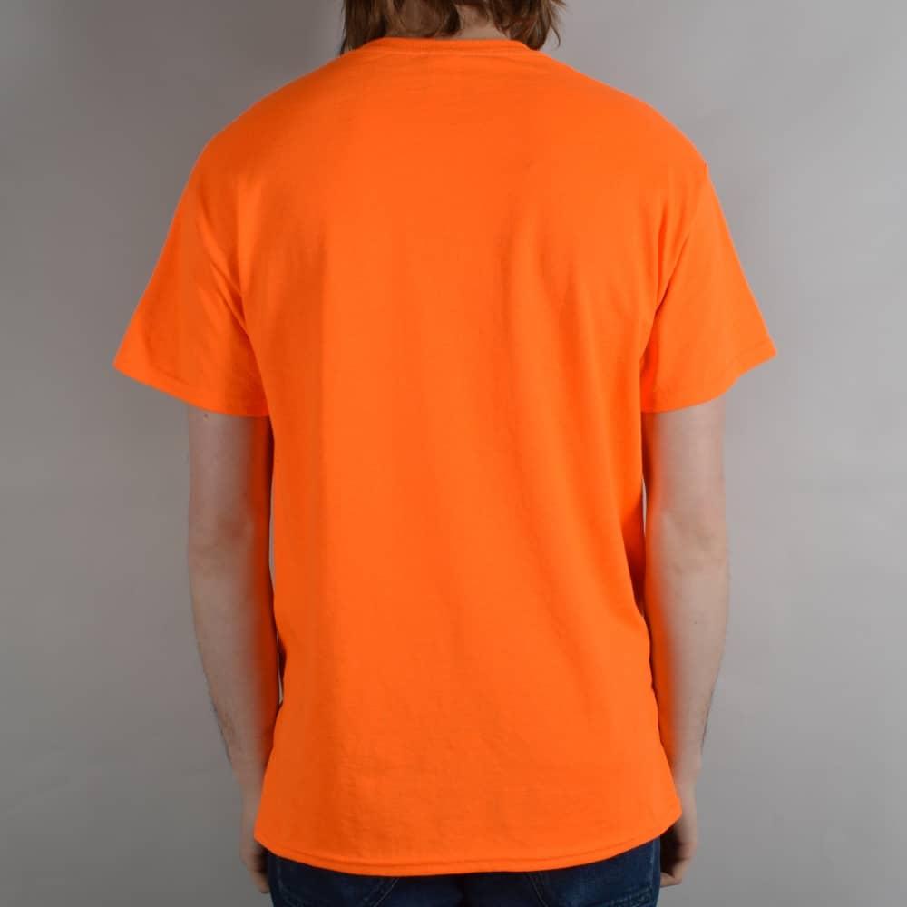 b3f040419cce Thrasher Skategoat Skate T-Shirt - Safety Orange - SKATE CLOTHING ...