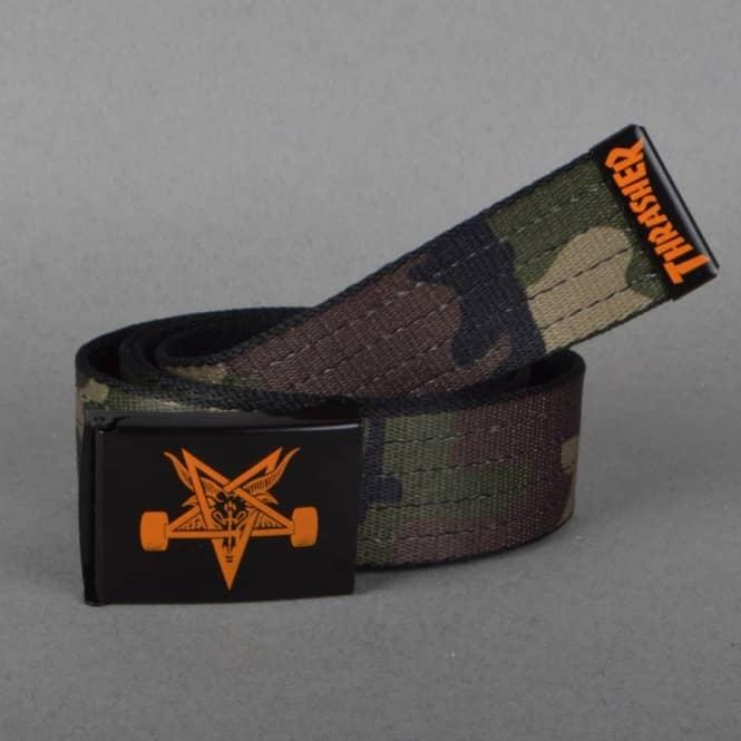 Thrasher Skategoat Web Belt - Camo - SKATE CLOTHING from Native ... bbb38721c9c