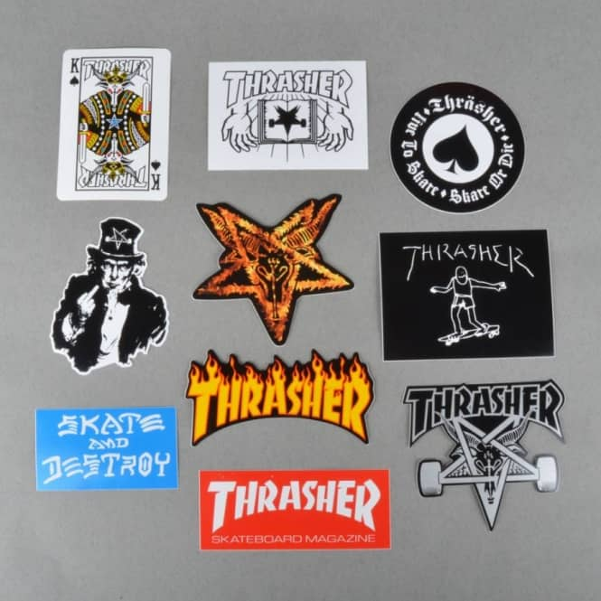 Thrasher Thrasher Sticker Pack