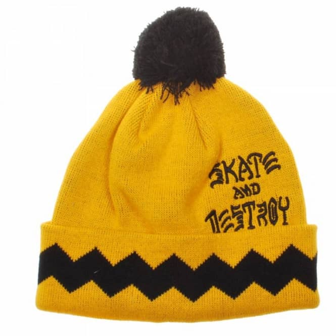 Thrasher Gnarly Beanie - Beanies from Native Skate Store UK 00e9eab8d29