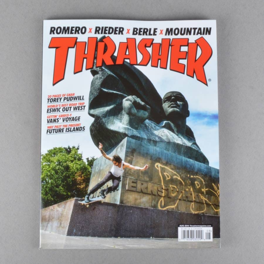 Thrasher Thrasher Magazine August 2014