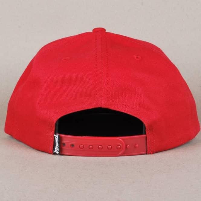 42d703aeb9f Thrasher Skate And Destroy Snapback Cap - Blood Red - SKATE CLOTHING ...