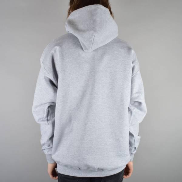 thrasher thrasher skate mag logo hoodie heather grey
