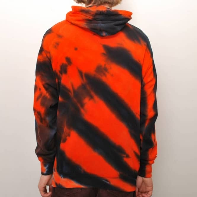 d5b99967dcf Thrasher Skate Mag Tiger Stripe Tie Dye Pullover Hoodie - Orange ...