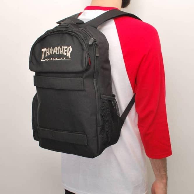 Thrasher Special Ops Skate Backpack - Black - Skate Backpacks   Bags ...