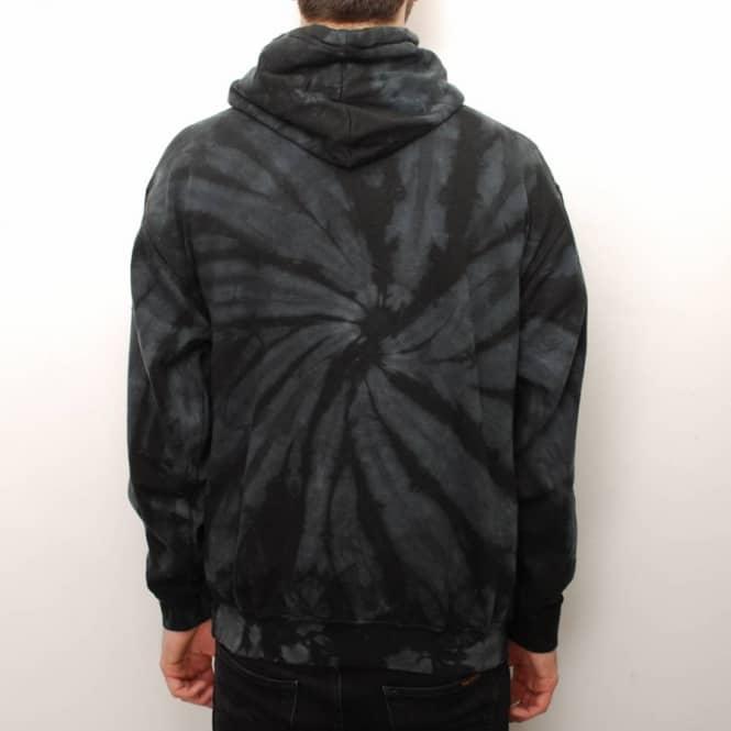 c49f0c7d821a Thrasher Spider Skategoat Tie-Dye Hoodie - Black Grey - Hooded Tops ...