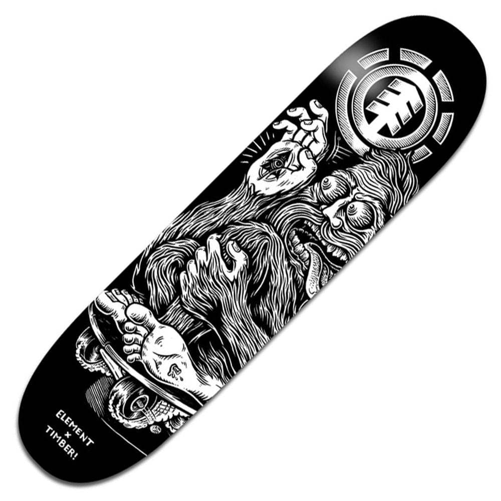 "Element Skateboards Featherlight Timber Joyride Skateboard Deck 8.25/"""