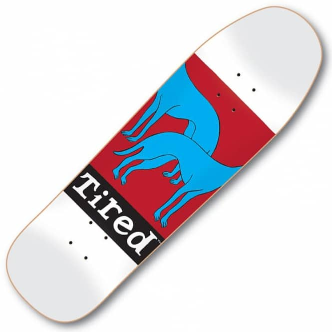 Tired Skateboards Headless Dogs On Wanderer Skateboard Deck 9.25