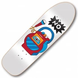 Tired Skateboards No On Slick Skateboard Deck 9.189""