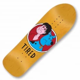 Tired Skateboards Tired Scrooby Skateboard Deck 9.5''