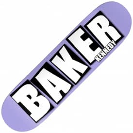 TK Brand Name Purple B2 Skateboard Deck 8.25