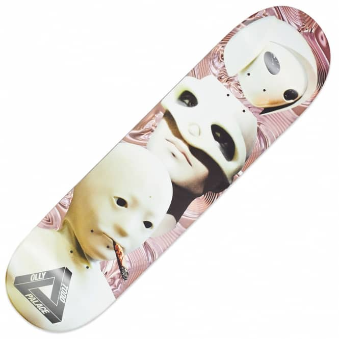 Palace Skateboards Todd Pro Sans Zooted Liquid Skateboard Deck 8.0