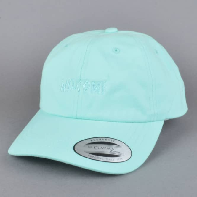 Welcome Skateboards Tonal Scrawl Unstructured Slider Cap - Teal