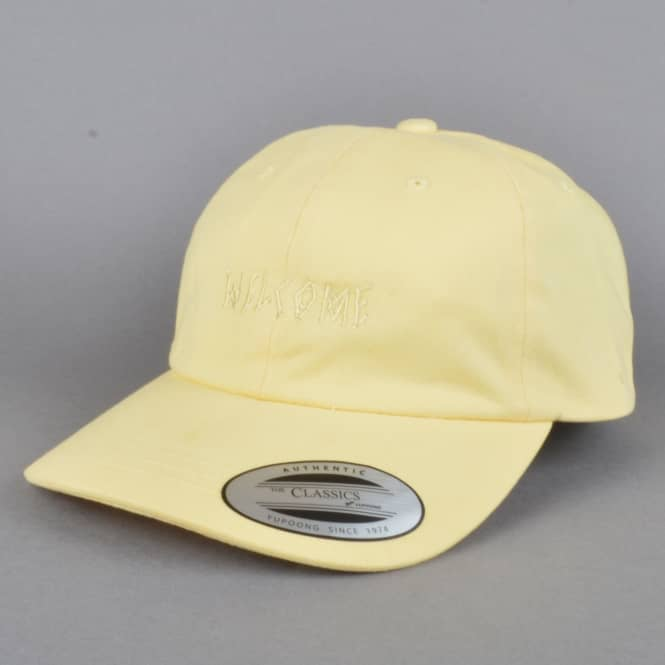 Welcome Skateboards Tonal Scrawl Unstructured Slider Cap - Yellow