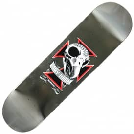 Birdhouse Tony Hawk Skull 2 Chrome Foil Skateboard Deck 8.25""