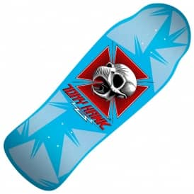 Powell Peralta Tony Hawk Skull Blue Series 9 Bones Brigade Reissue Skateboard Deck 10.38""