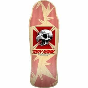 60db2cd8912f3 Powell Peralta Tony Hawk Skull Natural 11th Series Bones Brigade Reissue  Skateboard Deck 10.45