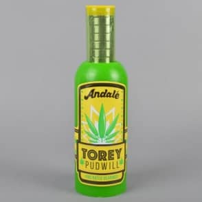 Andale Bearings Torey Pudwill Green Sauce Pro Rated Skateboard Bearings And Wax