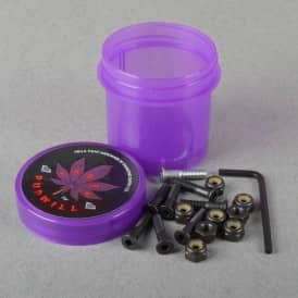 Torey Pudwill Purple Grinder Hella Tight Hardware Truck Bolts 0.78