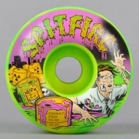 Toxic Apocalypse Afterburn 99D Formula Four Classic Skateboard Wheels 56mm