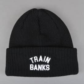 Train Banks Beanie - Black