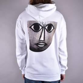 Triadic Pullover Hoodie - White